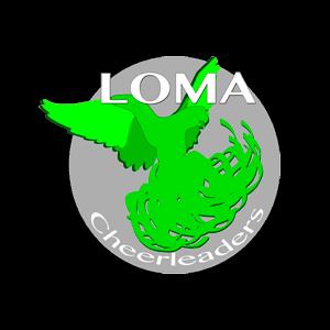 LOMA Cheerleaders Ry urheiluseuran logo