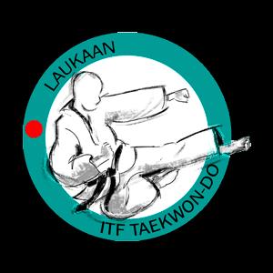 Laukaan ITF-Taekwon-Do Ry urheiluseuran logo