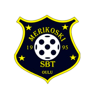 Merikoski SBT Ry urheiluseuran logo