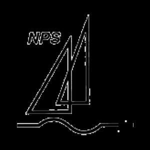 Naantalin Purjehdusseur Ry urheiluseuran logo