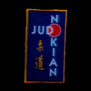 Nokian Judo Ry urheiluseuran logo