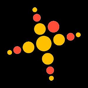 Palokan Naisvoimistelijat Ry urheiluseuran logo