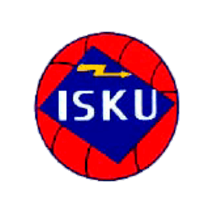 Popinniemen Isku Ry urheiluseuran logo