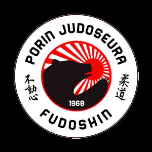 Porin Judoseura Fudoshin Ry urheiluseuran logo