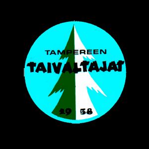 Tampereen Taivaltajat Ry urheiluseuran logo