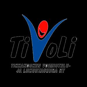 Tikkakosken Voimistelu-ja Liikuntaseura Ry urheiluseuran logo