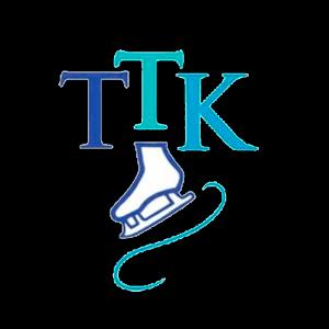 Tikkurilan Taitoluisteluklubi Ry urheiluseuran logo