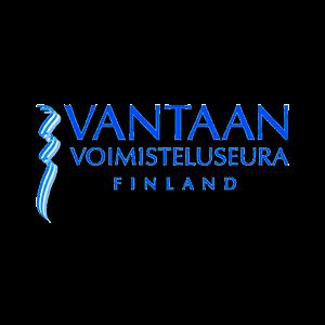 Vantaan Voimisteluseura Ry urheiluseuran logo