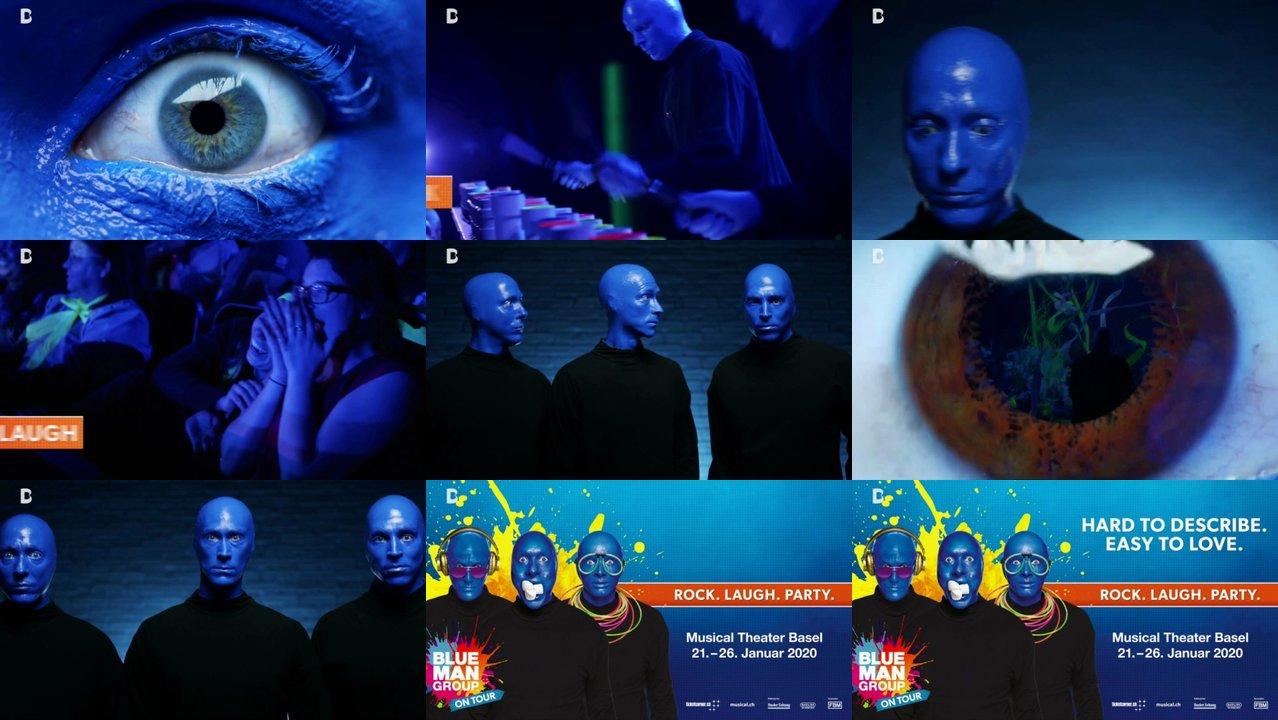 Blue Man Group Termine