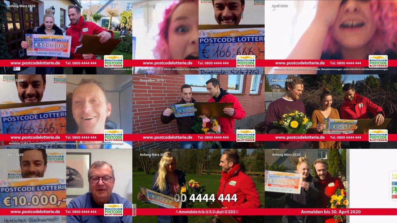 Deutsche Postcode Lotterie Ziehung