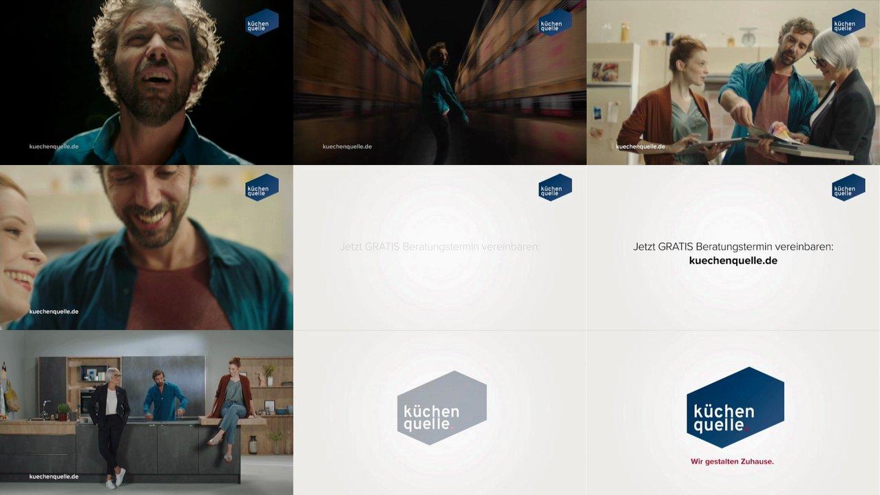 TV Spots - TV Werbung von küchen quelle der letzten 18 Tage