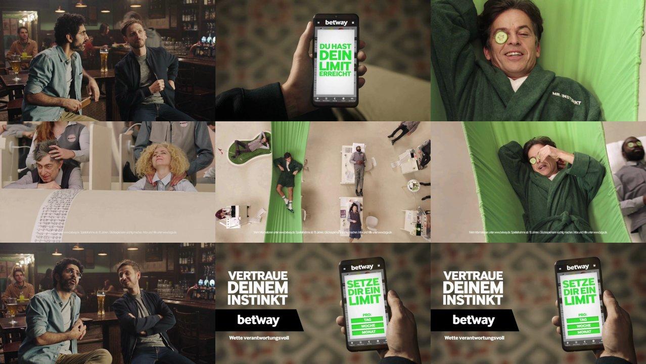 Betway Werbung
