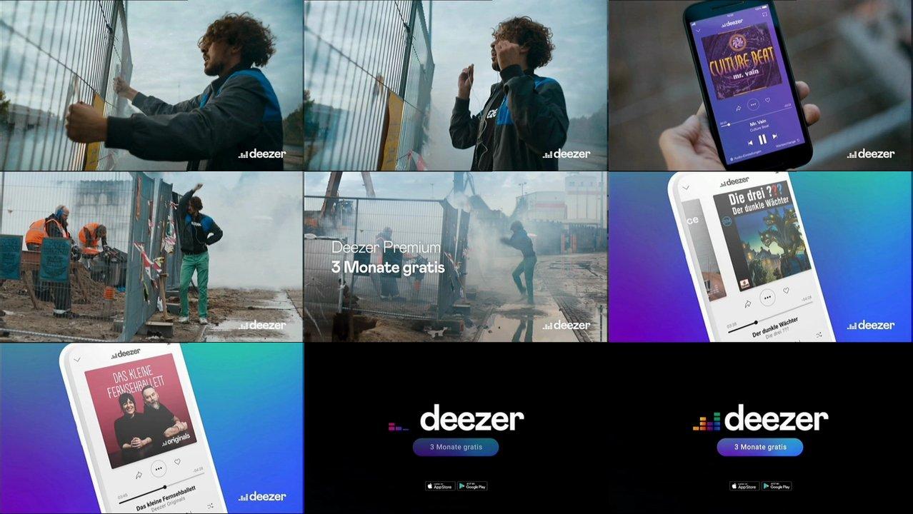 Deezer Werbung 2021