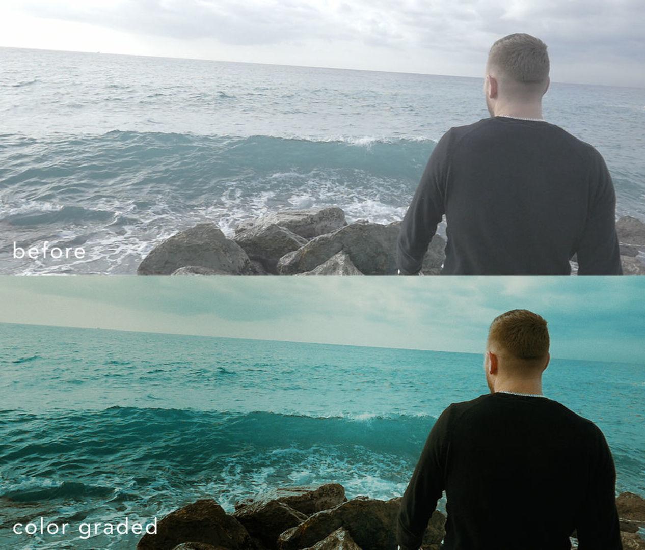 color grading: musikvideo von peah