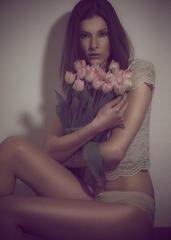 Leonie Polaroid Portrait I
