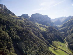 """Vorschaubild für Stock Bild """"img-20150912-153344-aerialstock-ebenalp-00017"""""""