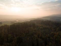"""Vorschaubild für Stock Bild """"img-20151016-180203-aerialstock-katzensee-00009"""""""