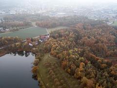 """Vorschaubild für Stock Bild """"img-20151016-184609-aerialstock-katzensee-00066"""""""