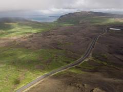 """Vorschaubild für Stock Bild """"img-20160730-171329-aerialstock-island-hofaskardh-00068"""""""