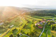 """Vorschaubild für Stock Bild """"img-20180607-202924-aerialstock-golfplatz-kyburg-winterthur-00033"""""""