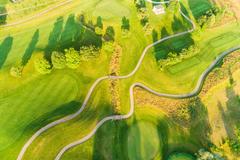 """Vorschaubild für Stock Bild """"img-20180607-202036-aerialstock-golfplatz-kyburg-winterthur-00015"""""""