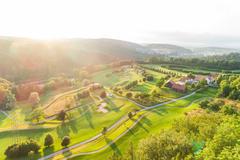 """Vorschaubild für Stock Bild """"img-20180607-202829-aerialstock-golfplatz-kyburg-winterthur-00029"""""""