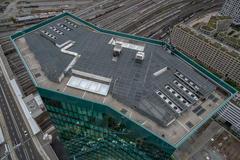 """Vorschaubild für Stock Bild """"img-20180621-210624-aerialstock-prime-tower-zuerich-00043-hdr"""""""