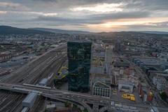 """Vorschaubild für Stock Bild """"img-20180621-205709-aerialstock-prime-tower-zuerich-00004-hdr"""""""