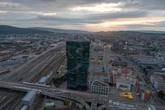 """Vorschaubild für Stock Bild """"img-20180621-205714-aerialstock-prime-tower-zuerich-00007-hdr"""""""