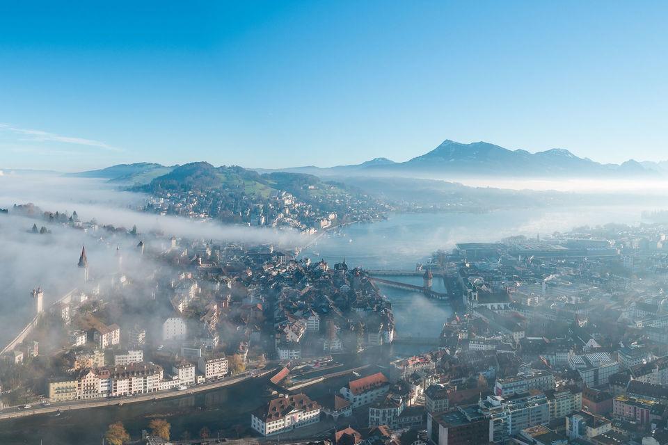 Luzern Nebelmeer