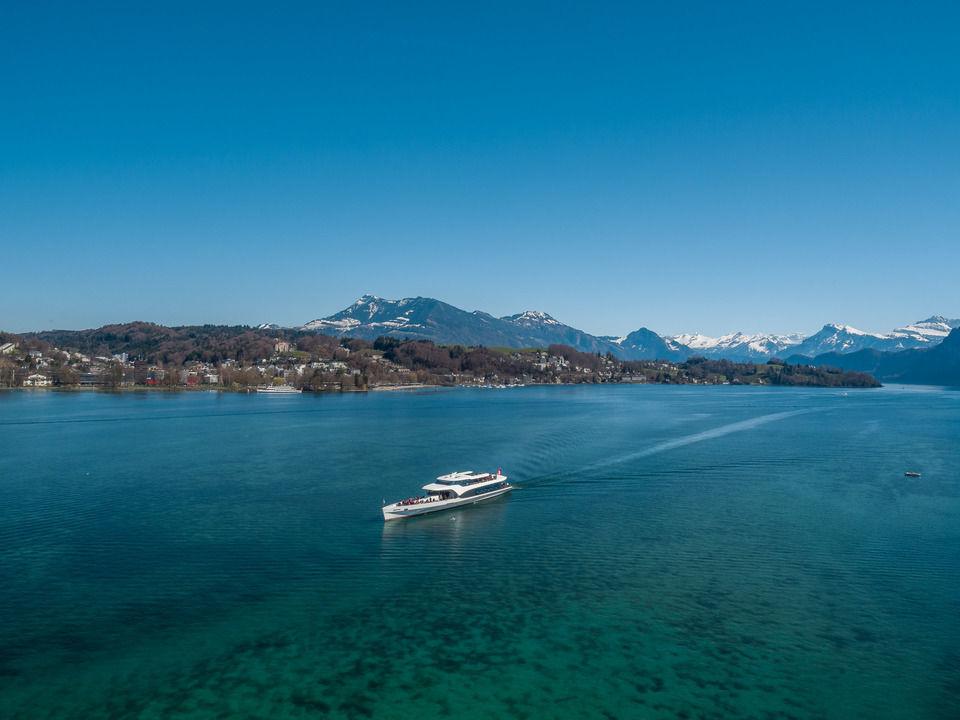 Schiffe in Luzern