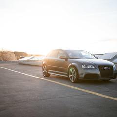 """Vorschaubild für Video """"Raceparts CH Audi RS3 Sundown"""""""