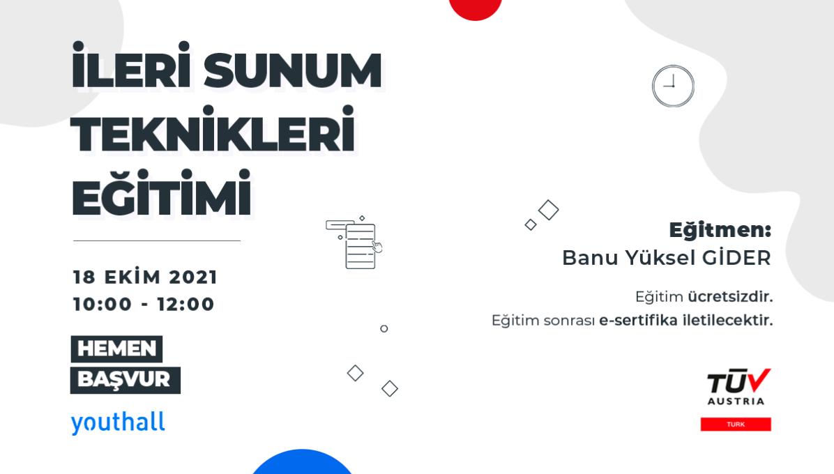 TÜV AUSTRIA TURK - İleri Sunum Teknikleri cover photo