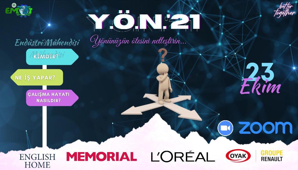 ÇÜ EMÖT - YÖN'21 cover img