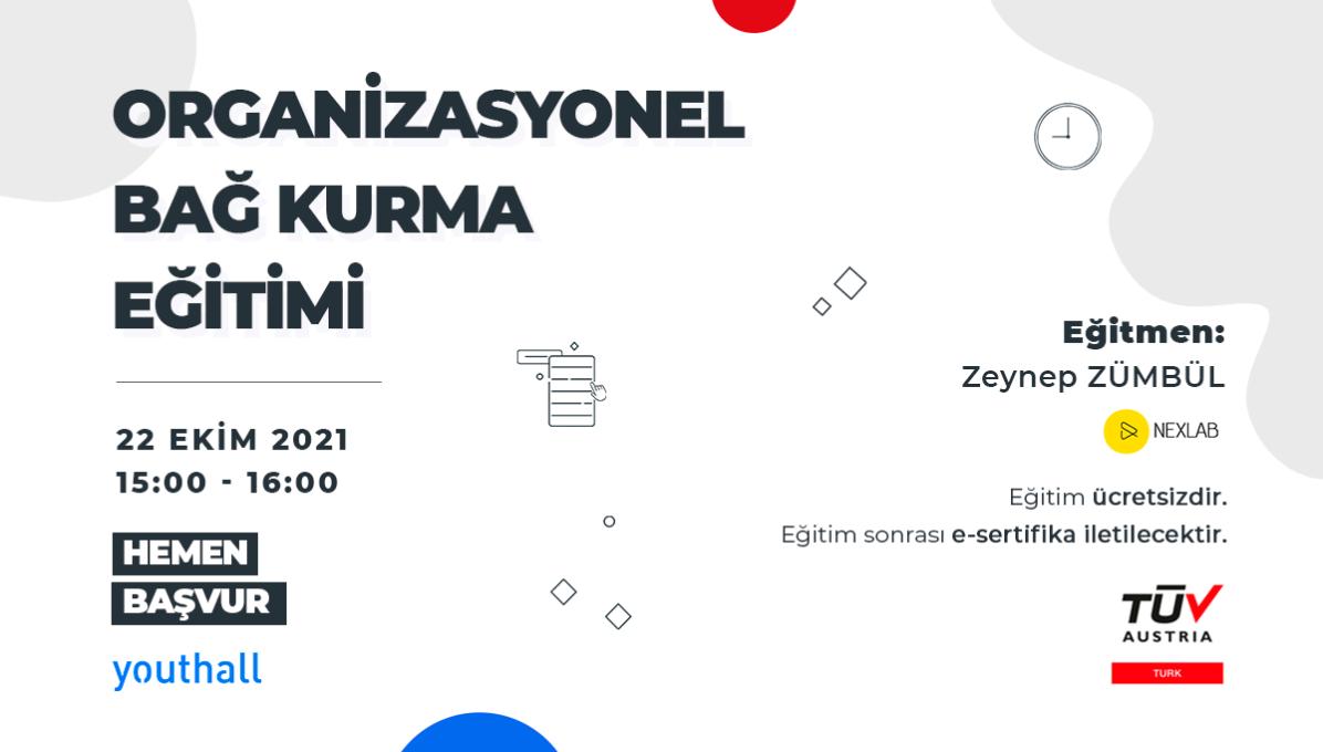 TÜV AUSTRIA TURK - Organizasyonel Bağ Kurmak cover img