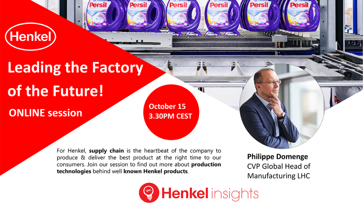 Henkel - Leading the Factory of the Future cover photo