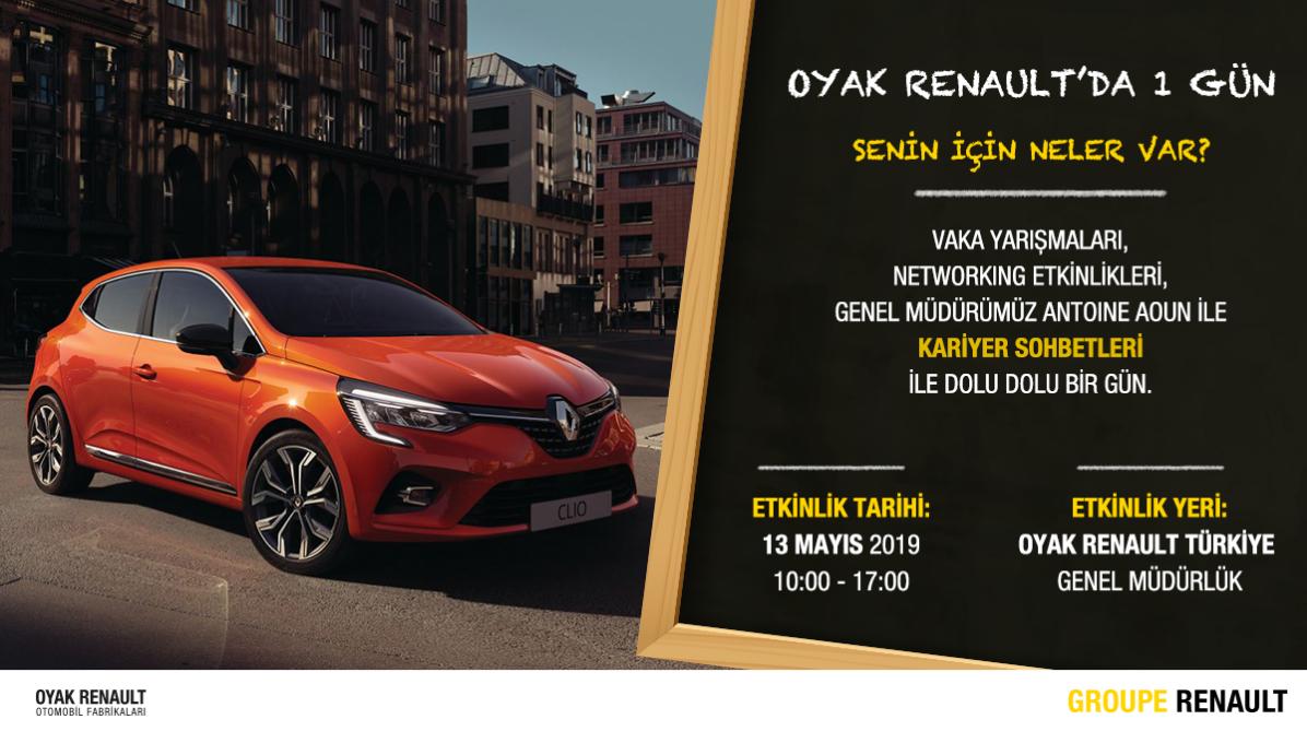 Oyak Renaultda 1 Gün Youthall