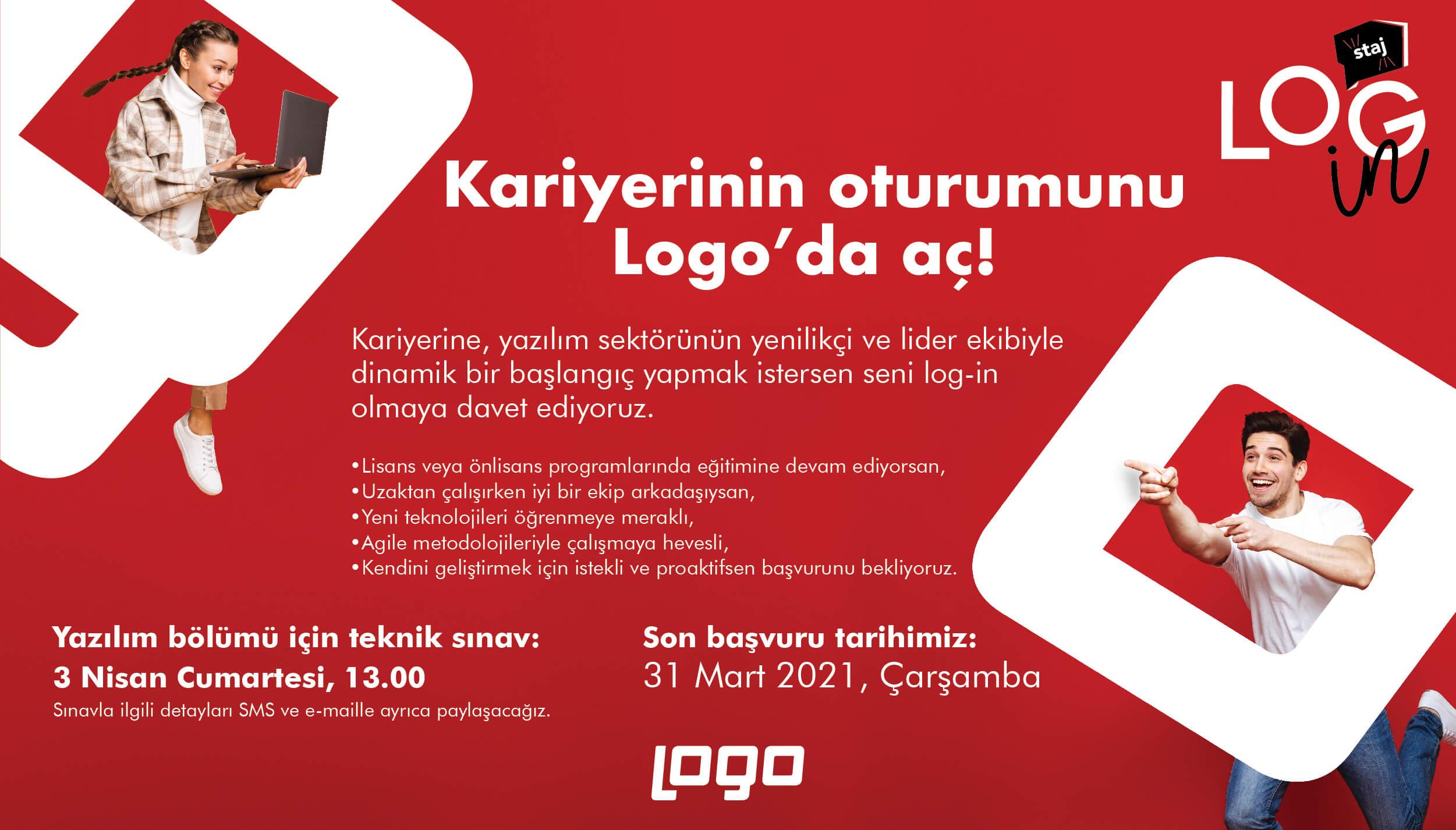 Logo Yazılım - Log-in Staj Programı - Remote