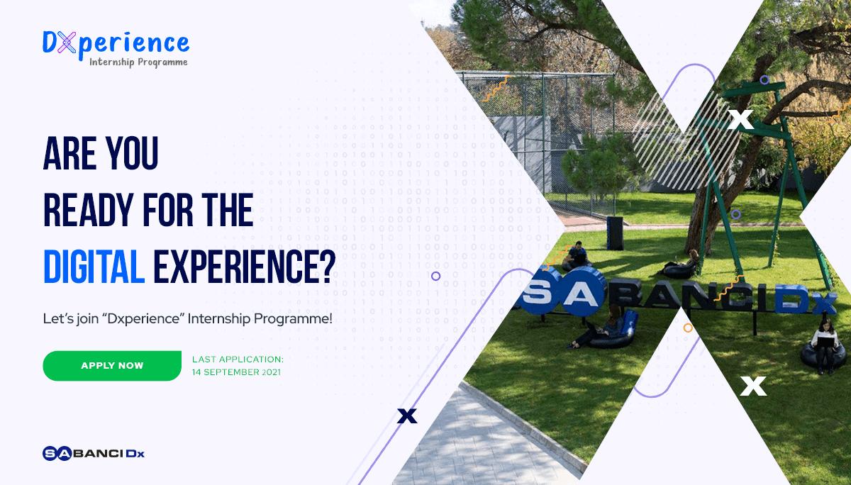 SabancıDx - Dxperience Internship Programme