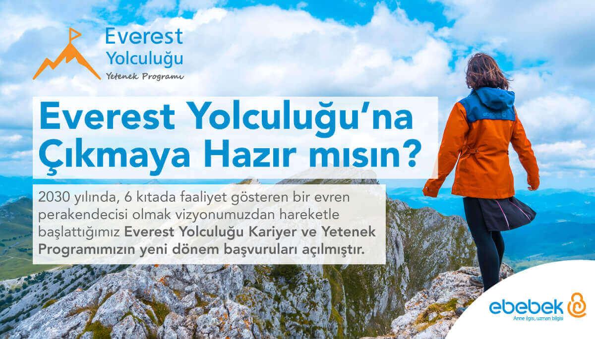 ebebek - ebebek Yetenek Programı (Everest Yolculuğu)