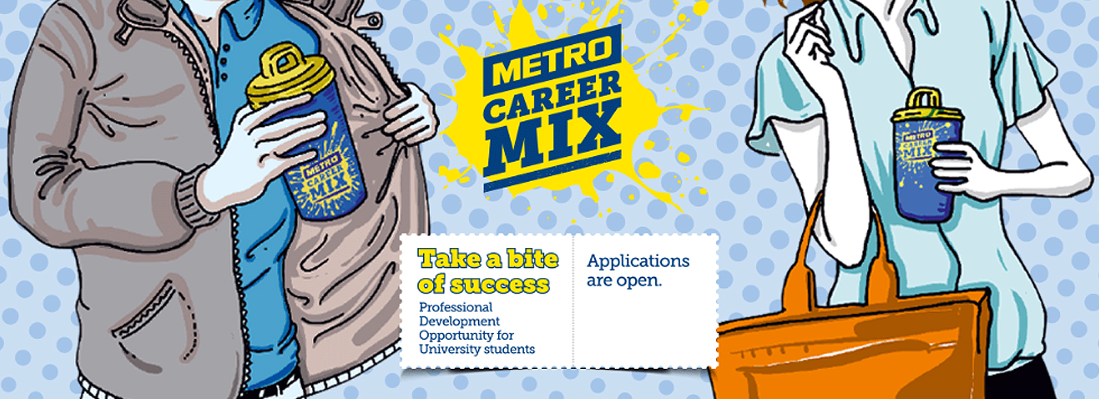 METRO Türkiye - CAREER MIX Young Talent Internship Program