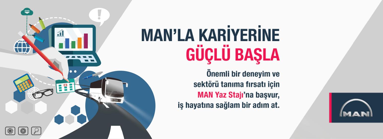 MAN Türkiye - Yaz Dönemi Stajyeri