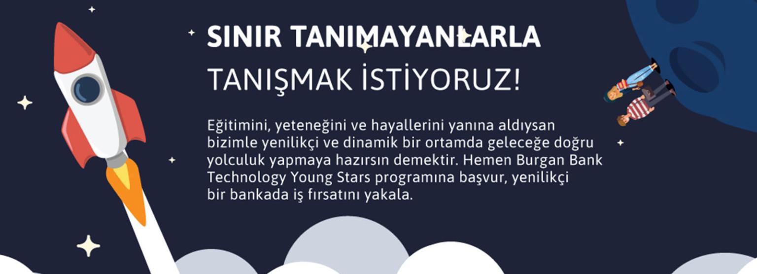 Burgan Bank - Technology Young Stars Yetenek Programı