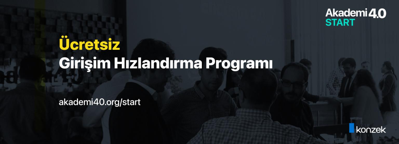 Konzek Teknoloji - Akademi 4.0 Start Girişim Hızlandırma Programı