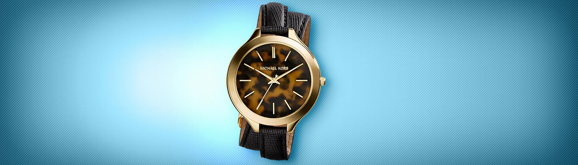 €136 για ένα γυναικείο ρολόι Michael Kors