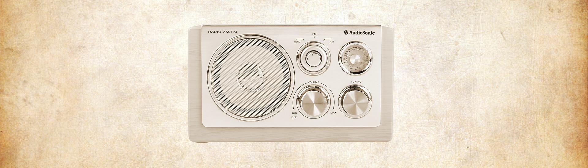 €45 για ρετρό ράδιο Audiosonic