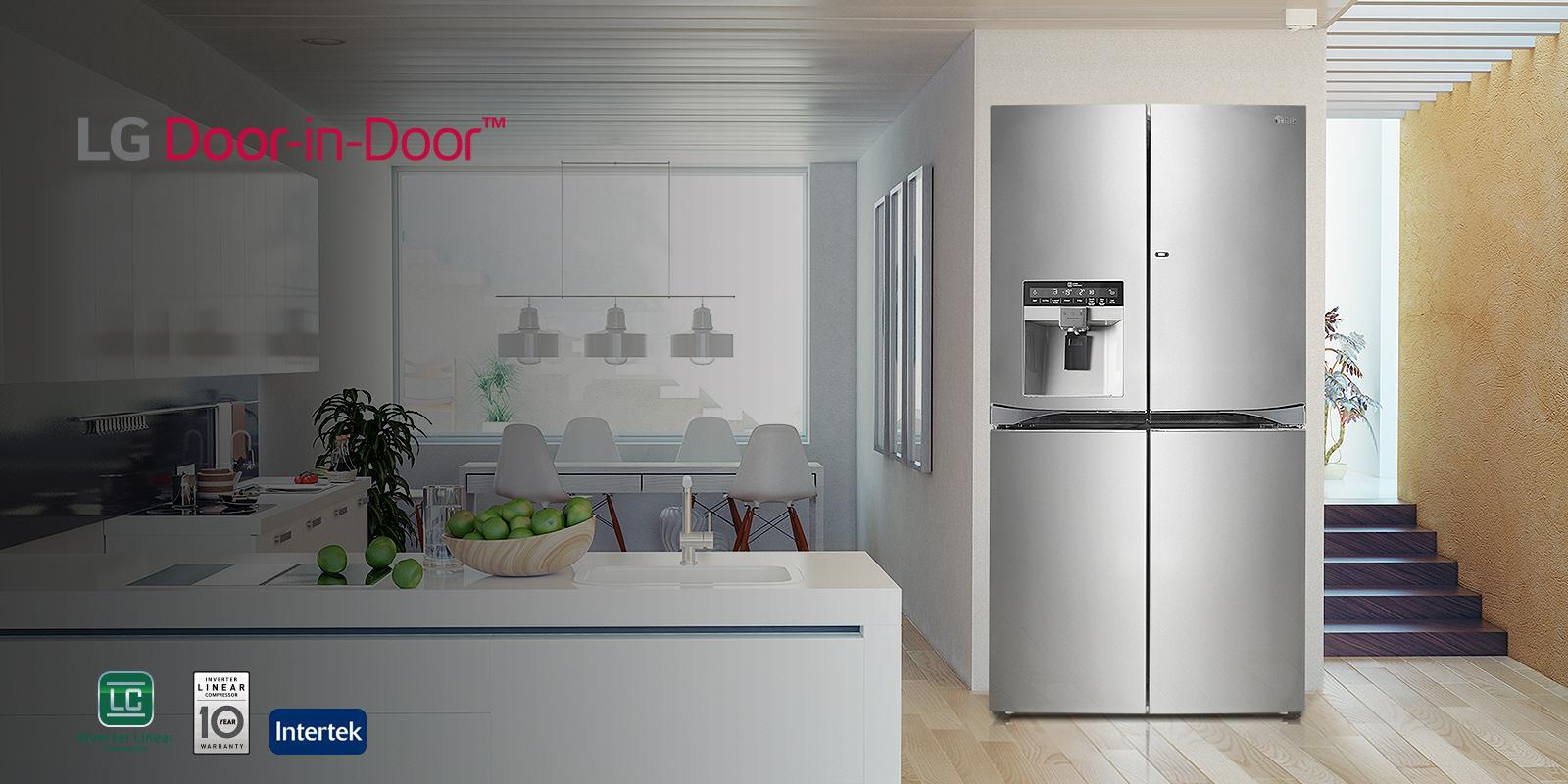 €799 για το μοναδικό ψυγείο LG GSL760PZUZ