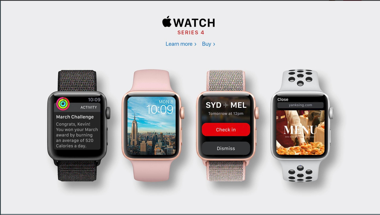 €516 για το Apple Watch Series 4