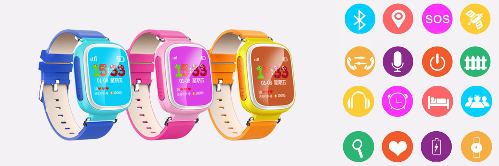 Smart Watch for kids with GPS tracker