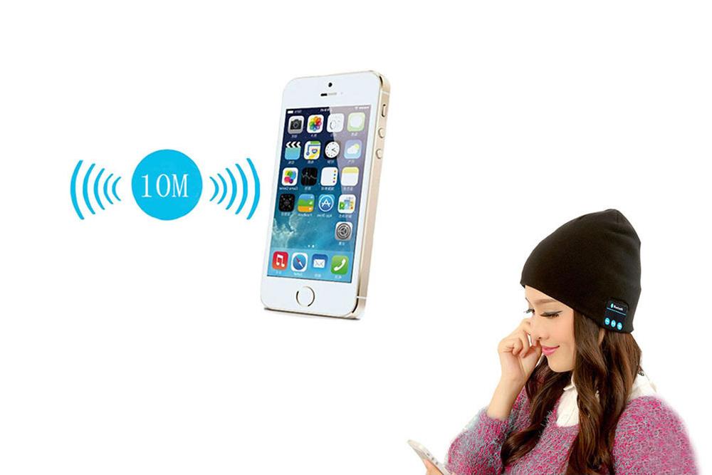Μαλακό και ζεστό σκουφάκι με Bluetooth